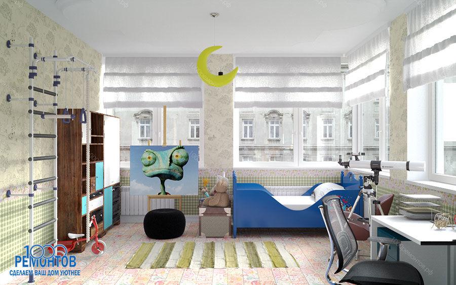 Дизайн-проект квартиры 84 м<sup>2</sup> Алтуфьевское шоссе