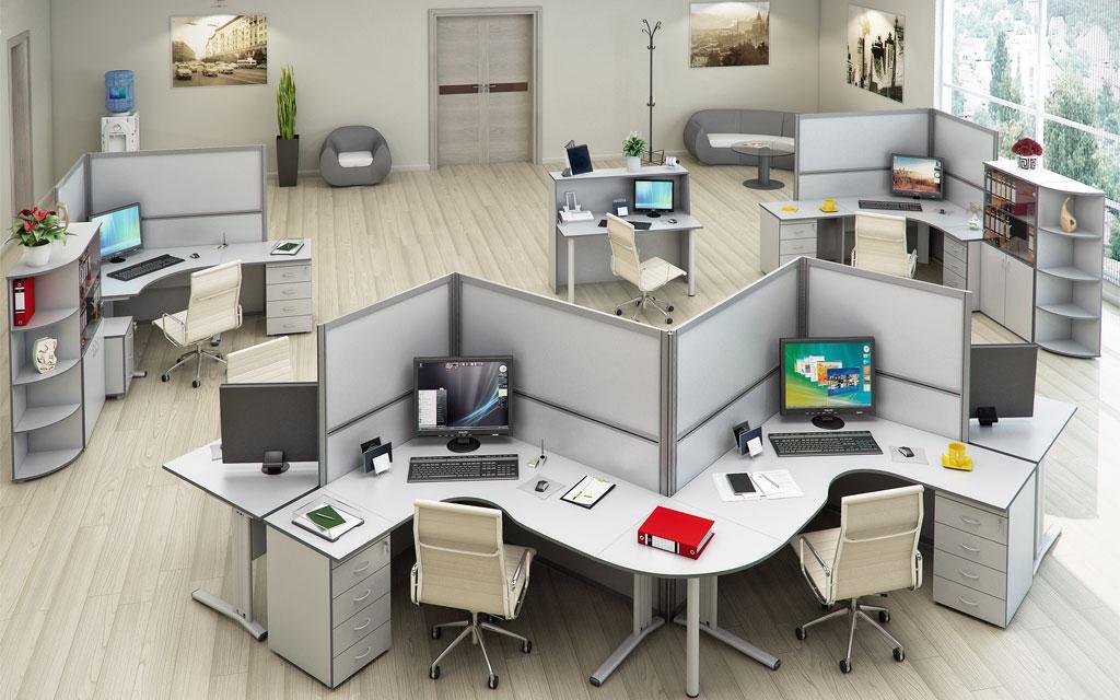 Что лучше: отдельные кабинеты или перегородки