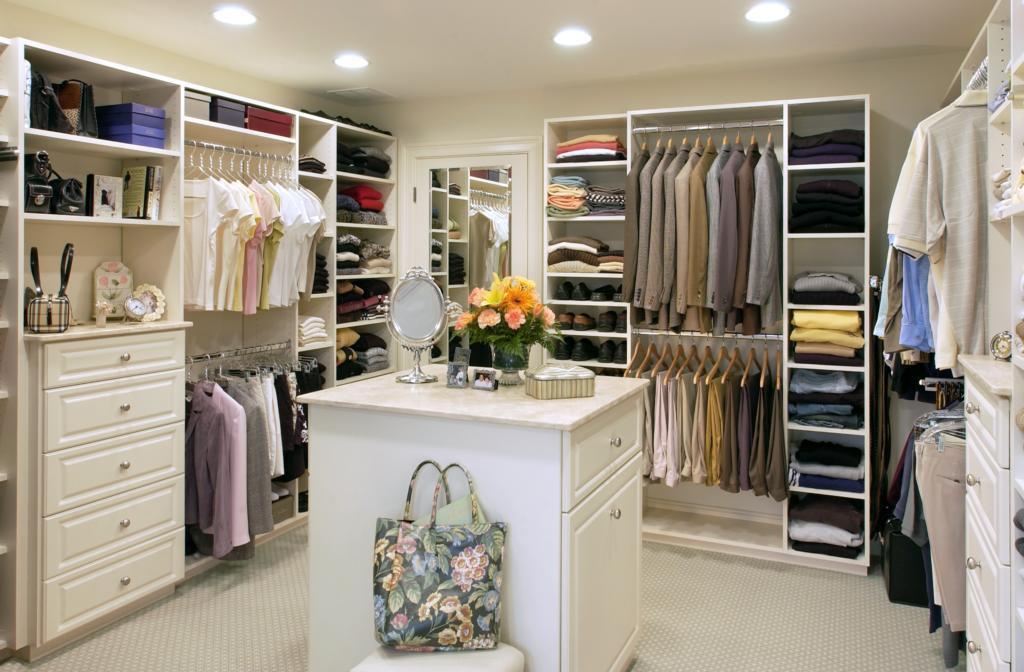 Мечта любой модницы. Дизайн гардеробной