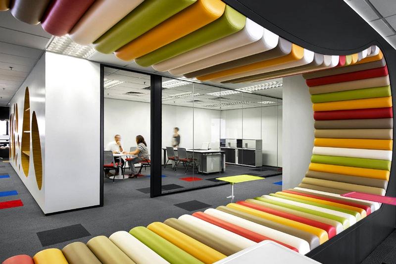 Креативный подход к созданию офисного интерьера