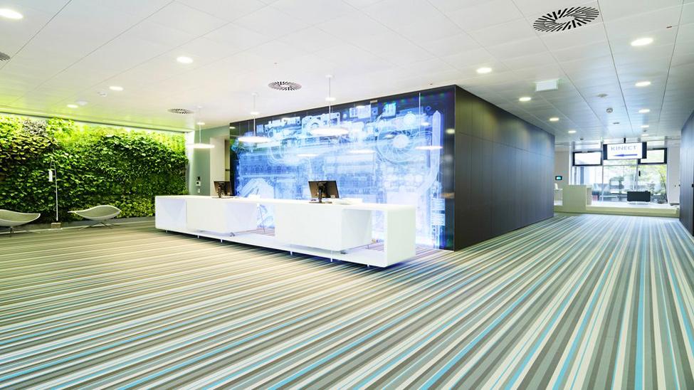 Варианты отделки стен в офисных помещениях