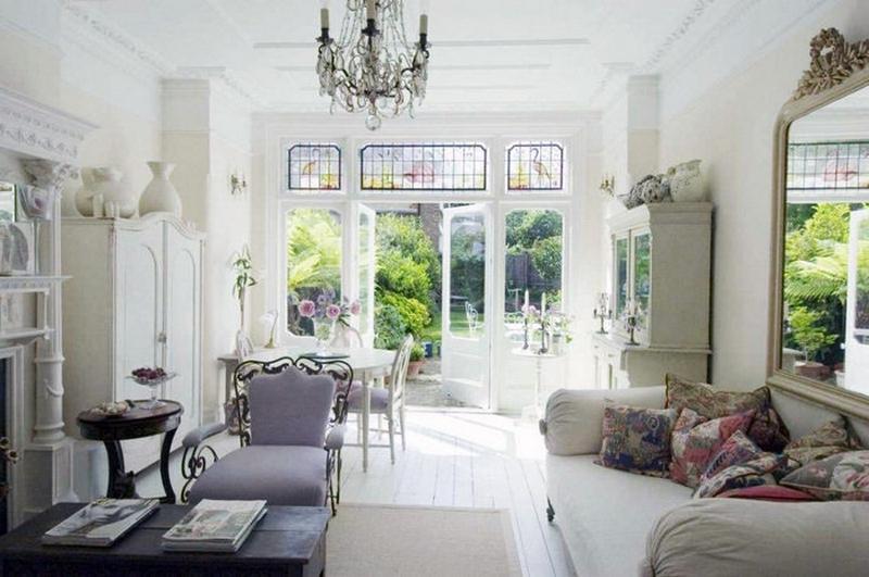 Стиль романтизм: романтика в жилых интерьерах