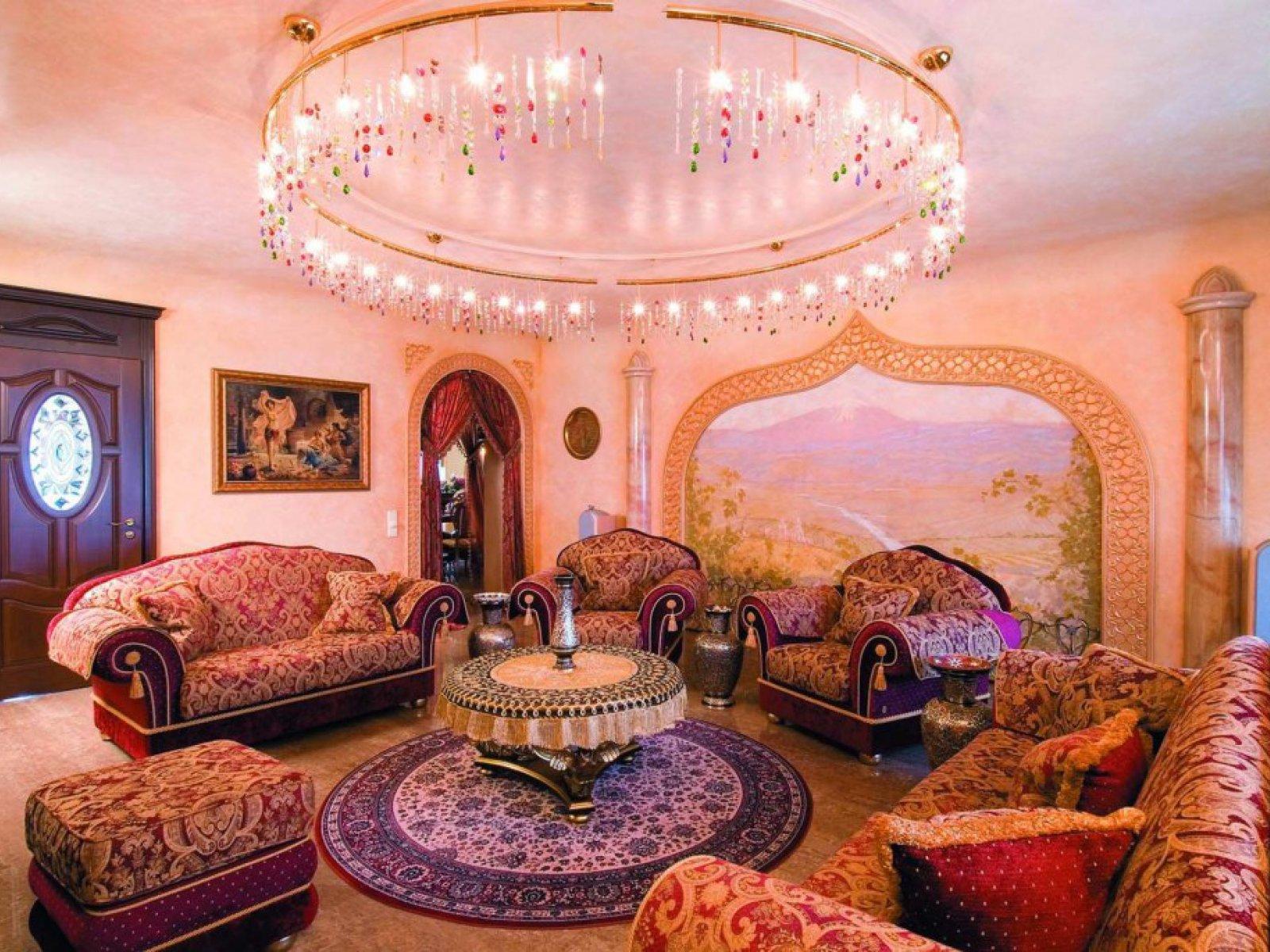 arabian style living room - HD1600×1071