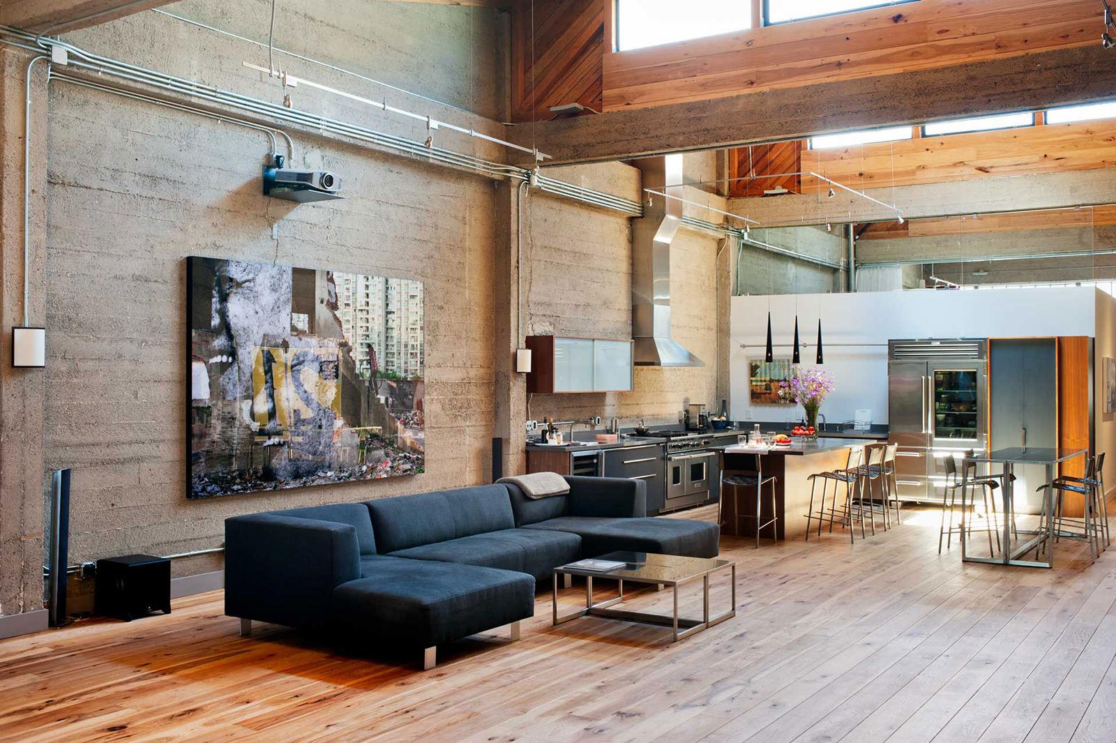 Стиль лофт: современная обстановка в старых декорациях
