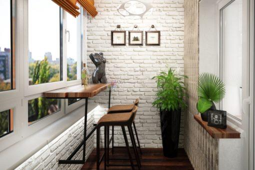 Дизайн для балкона
