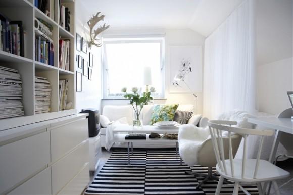 Комната в скндинаском стиле