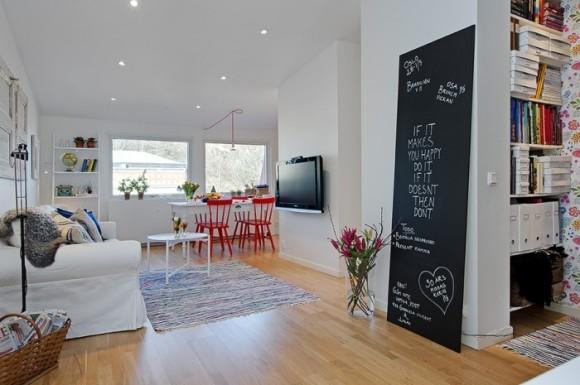 Комната в шведском стиле