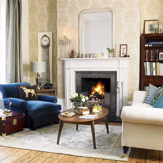 Комната для гостей английском стиле