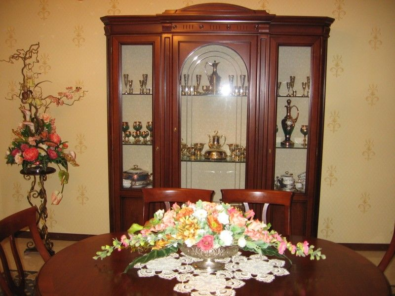 Флористика в гостиной