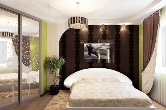 Флористика в спальне