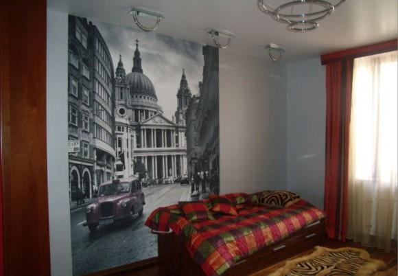 Фреска в комнате