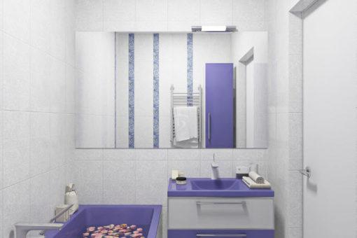 Цвет для маленькой ванной комнаты