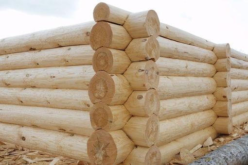 Деревянный сруб