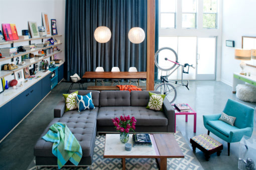 Дизайн интерьере в стиле эклектика