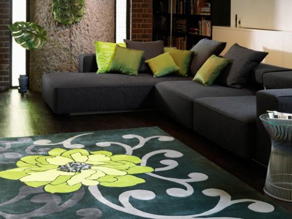 Дополнение интерьера ковром