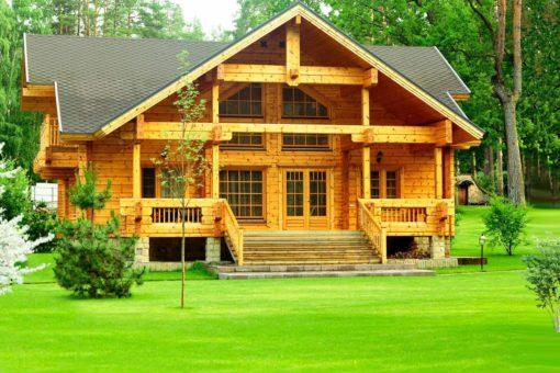 Защищаем деревянный дом