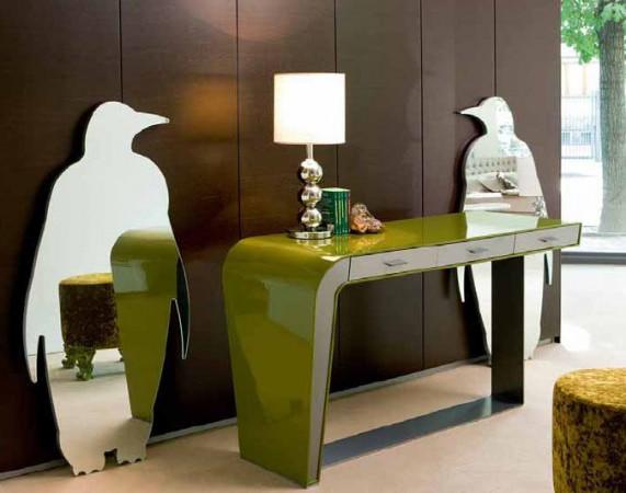 Зеркала пингвины