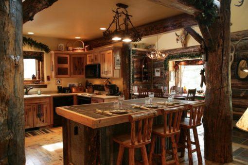 Кантри стиль в интерьере кухни