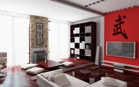 Китайский стиль в гостиной