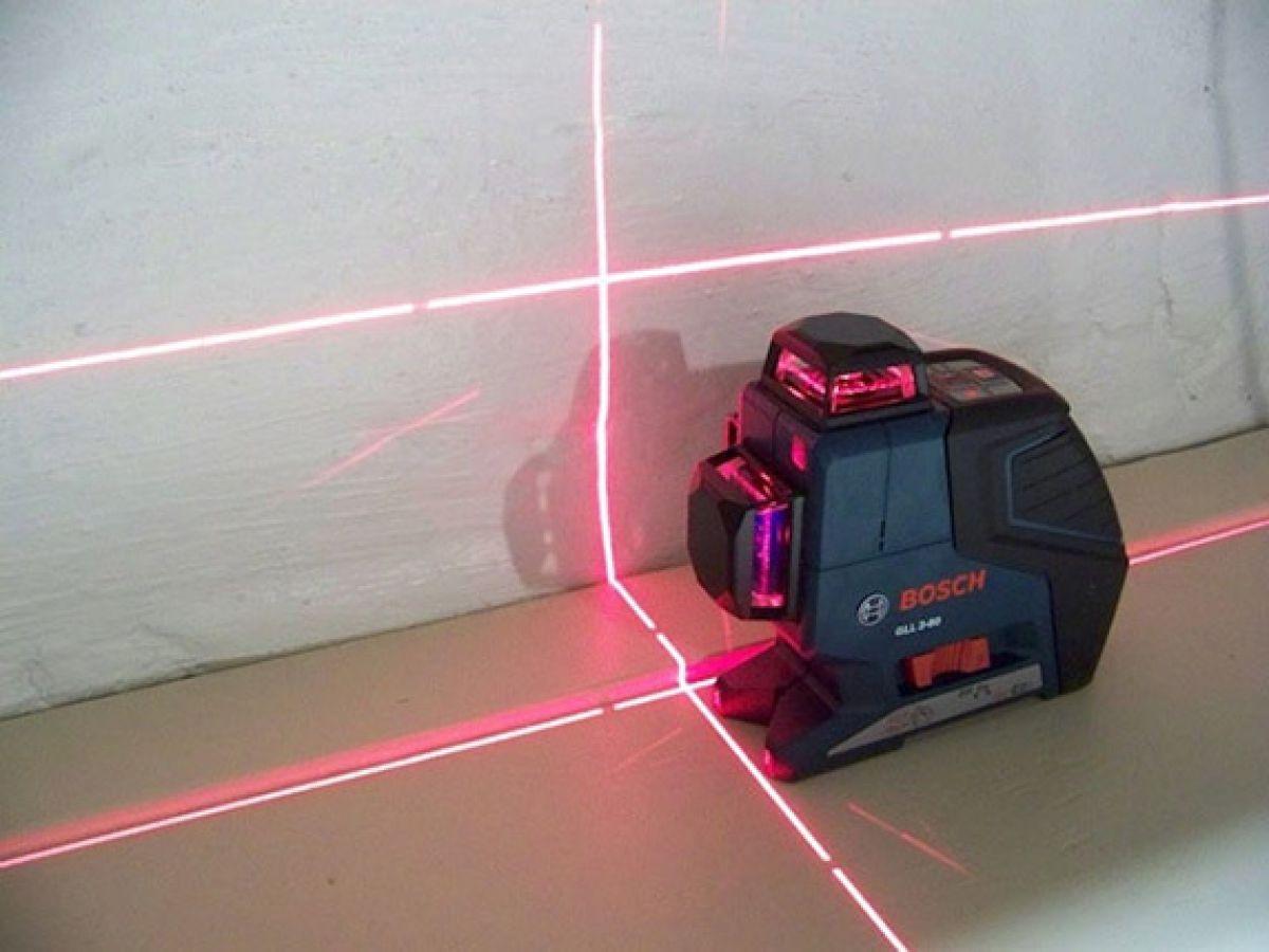 Выбираем лазерный уровень