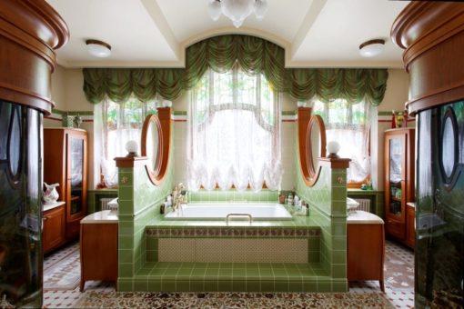 Модерн в ванной комнате