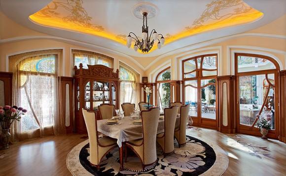 Модерн в интерьере гостиной