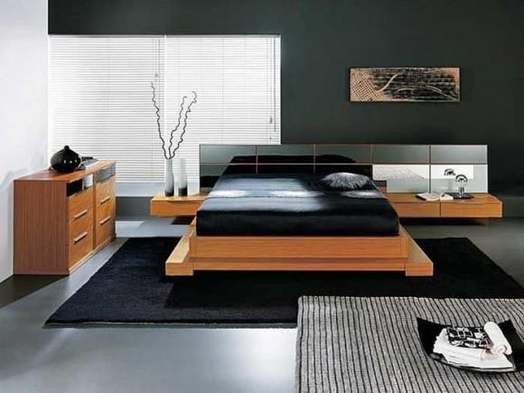 Мужская спальная комната