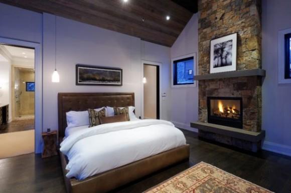 Обстановка и аксессуары в спальной комнате