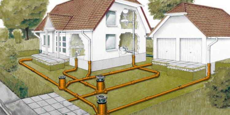 Особенности установки наружной канализации