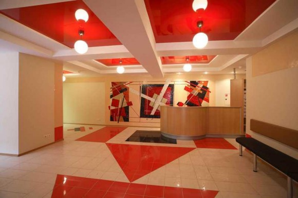 Офис в авангардном стиле