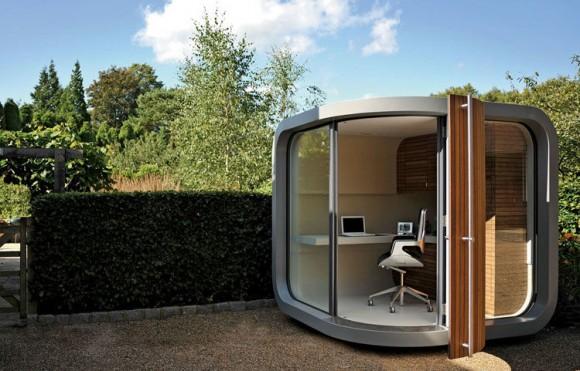 Офис в саду