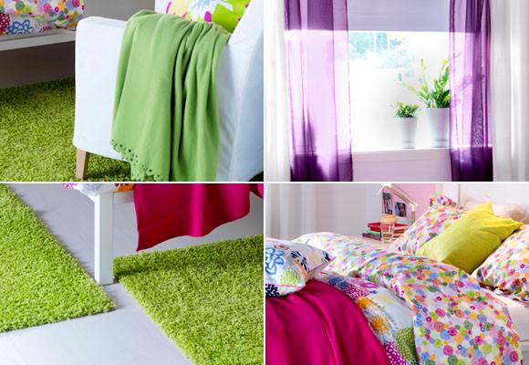 Примеры текстиля в интерьере