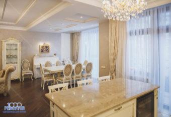 Ремонт квартиры 140 м2 на Фрунзенской набережной