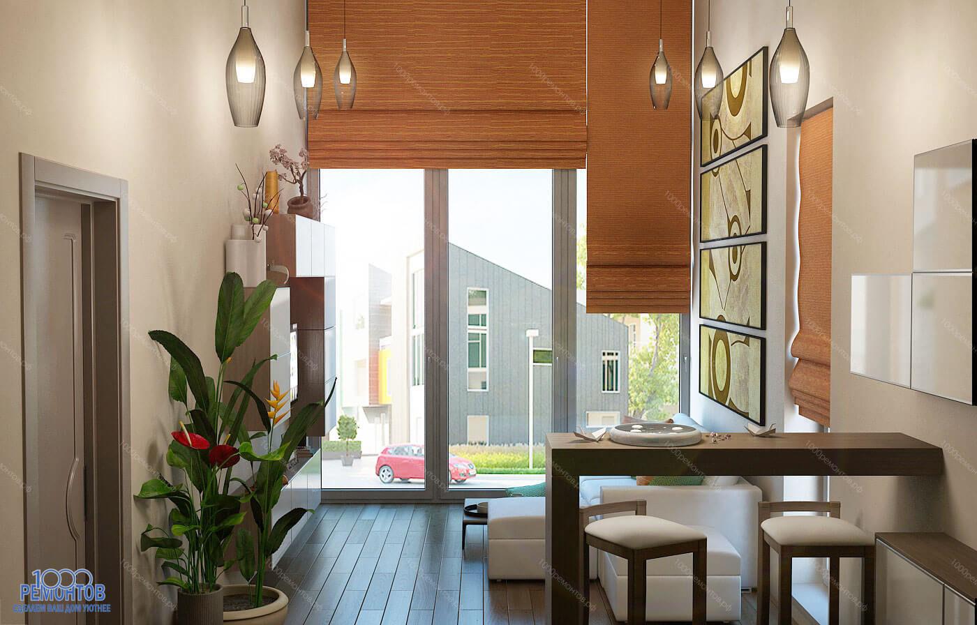 Дизайн-проект таунхауса 150 м<sup>2</sup> ЖК Белый город