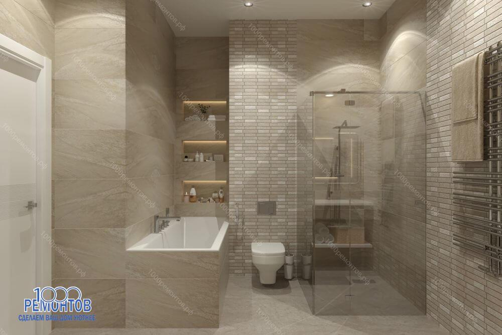 Дизайн-проект таунхауса 170 м<sup>2</sup> Бутово