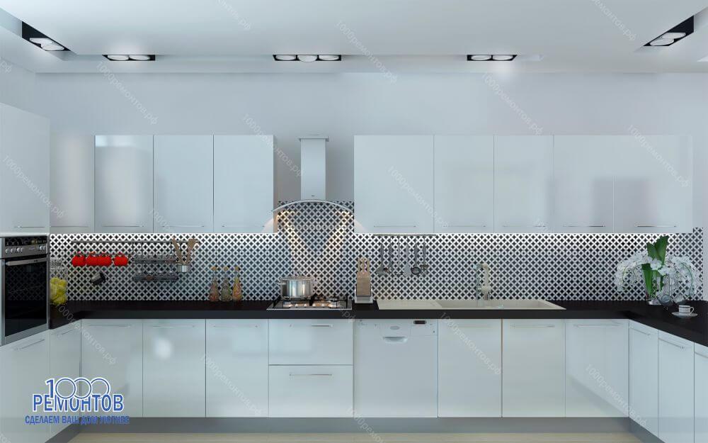 Дизайн-проект таунхауса 280 м<sup>2</sup> ЖК Никольский парк