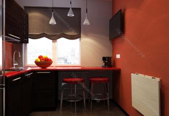 Дизайн-проект квартиры  65 м<sup>2</sup>  метро Ясенево