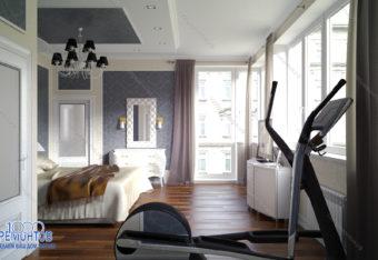 Дизайн-проект квартиры 60 м<sup>2</sup> в городе Электросталь