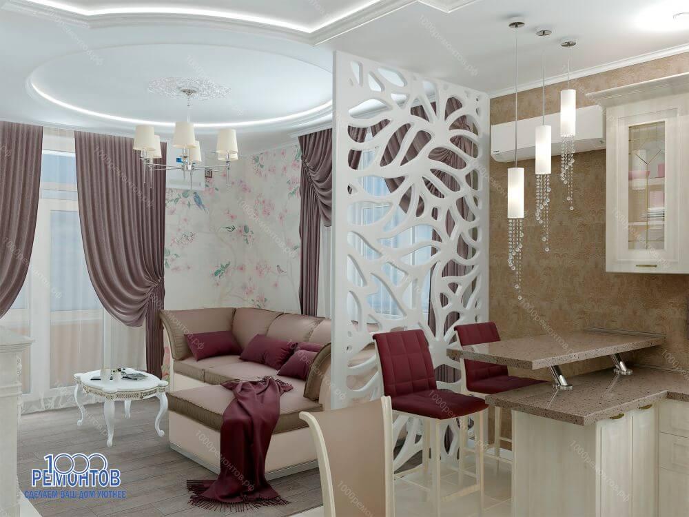 Дизайн-проект квартиры 78 м<sup>2</sup> в ЖК Оранж парк
