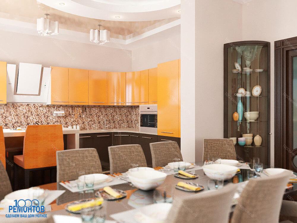 Дизайн-проект квартиры 85 м<sup>2</sup>  Химки