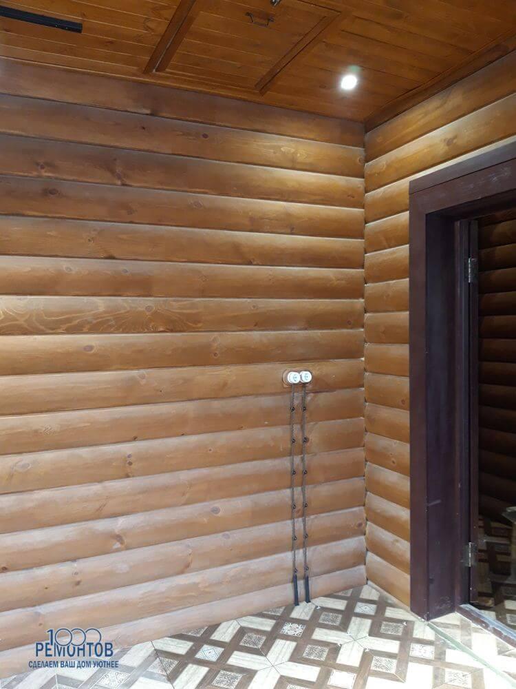 Отделка бани 80 м2 в КП «Полесье»